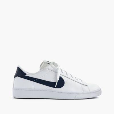 nike tennis classic sneakers in white mens sneakers j