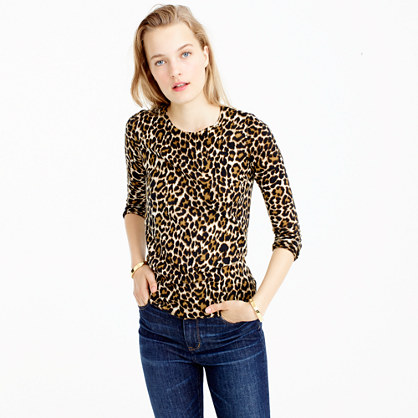 Tippi sweater in leopard print