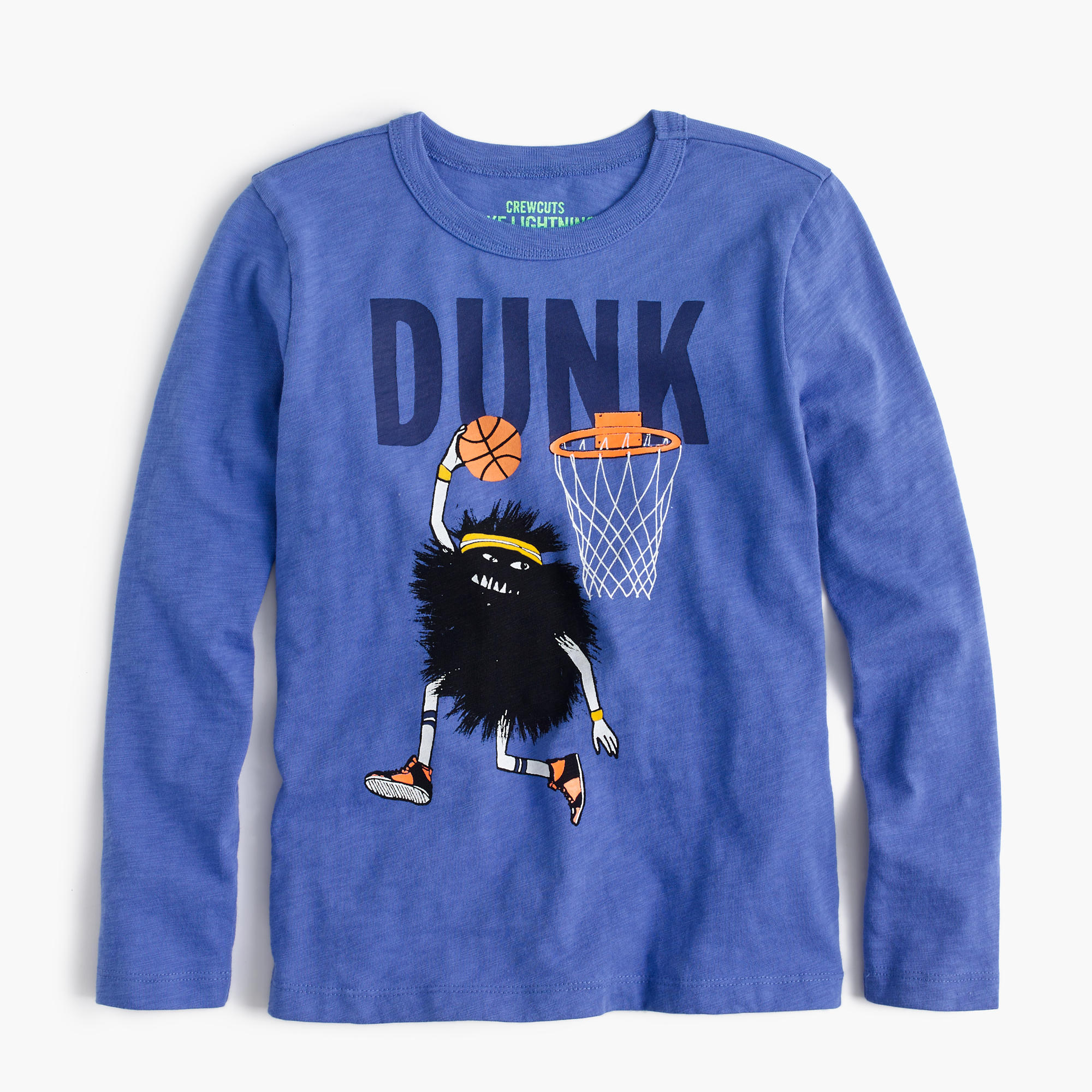 Boys 39 Long Sleeve Max The Monster Dunk T Shirt Boys