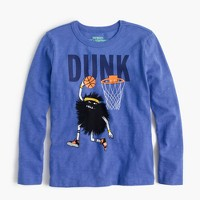"Boys' long-sleeve Max the Monster ""dunk"" T-shirt"