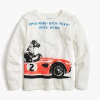 Boys' long-sleeve racing Great Dane T-shirt
