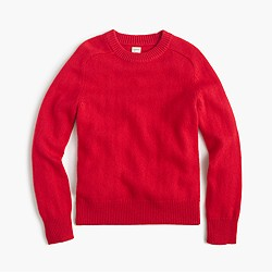 Boys' softspun crewneck sweater