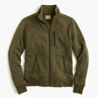 Tall summit fleece full-zip jacket in olive