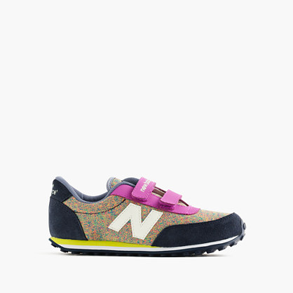 Kids' New Balance® for crewcuts 410 sneakers in heather rainbow
