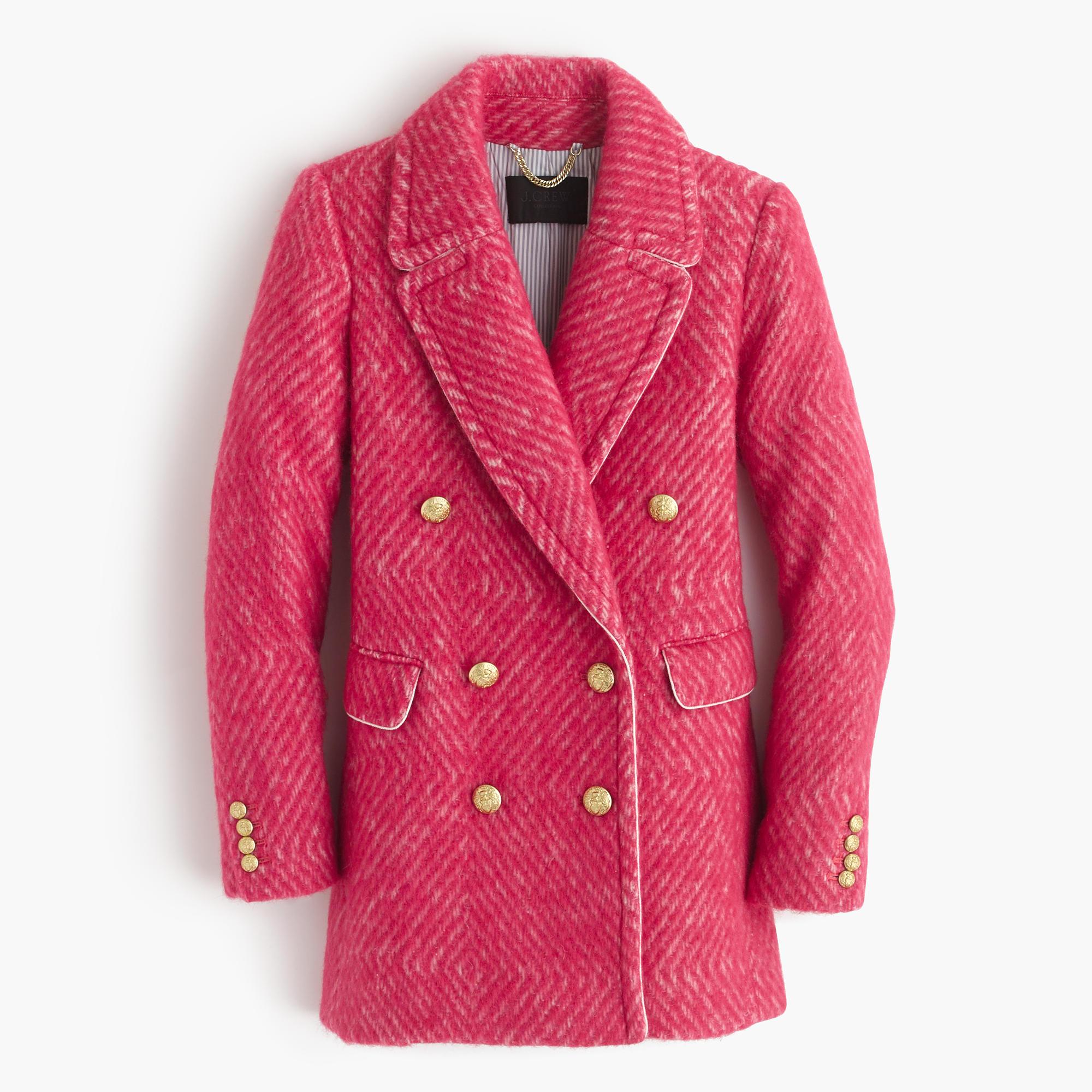 Diamond Tweed Coat : Women's Coats & Jackets | J.Crew