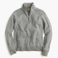 Tall summit fleece half-zip sweatshirt in grey
