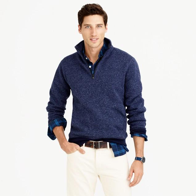 Tall summit fleece half-zip sweatshirt in ultramarine