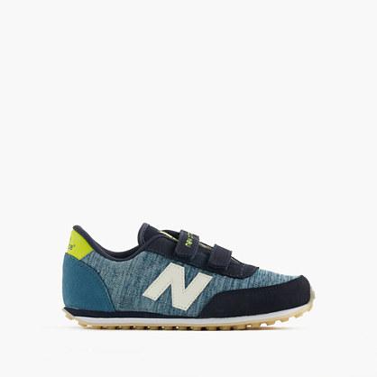 Kids' New Balance® for crewcuts glow-in-the-dark 410 sneakers