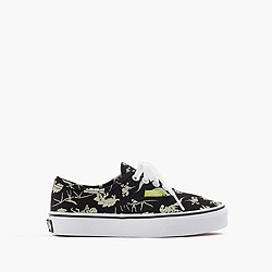 Kids' Vans® authentic glow-in-the-dark dinosaurs sneakers