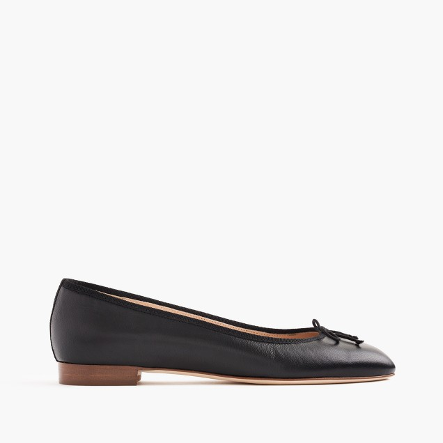 Kiki leather ballet flats