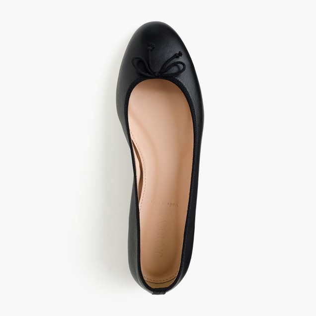 Kiki leather ballet flats