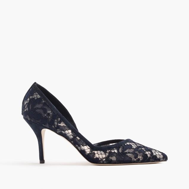 Colette d'Orsay pumps in lace