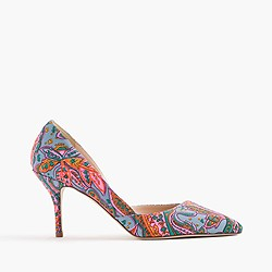Colette d'Orsay pumps in paisley