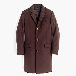 Ludlow topcoat in Italian wool-cashmere with Thinsulate®