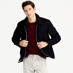 Quad wool jacket