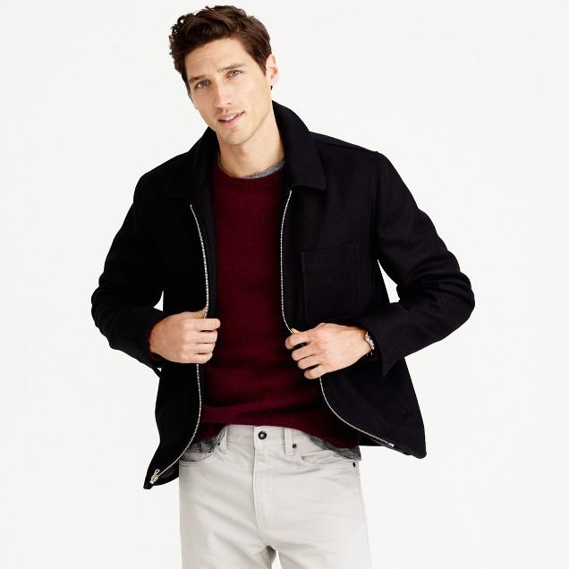 Quad wool jacket