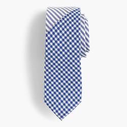 Boys' mash-up cotton tie