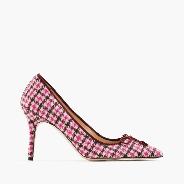 Elsie tweed pumps