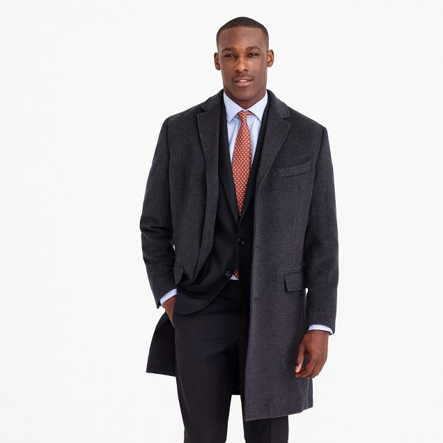 Crosby topcoat in Italian wool-cashmere