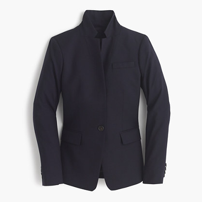 Tall Regent blazer in Super 120s wool
