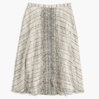 Collection skirt in French lace