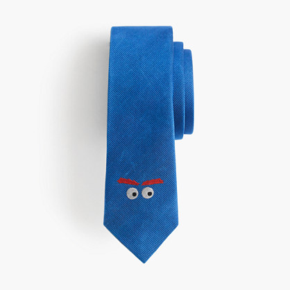Boys' critter silk tie in Max the Monster