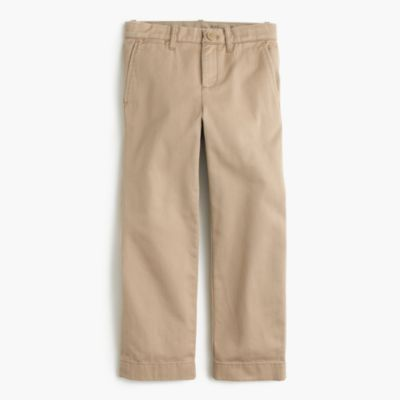 Boys' broken-in chino pant in straight fit