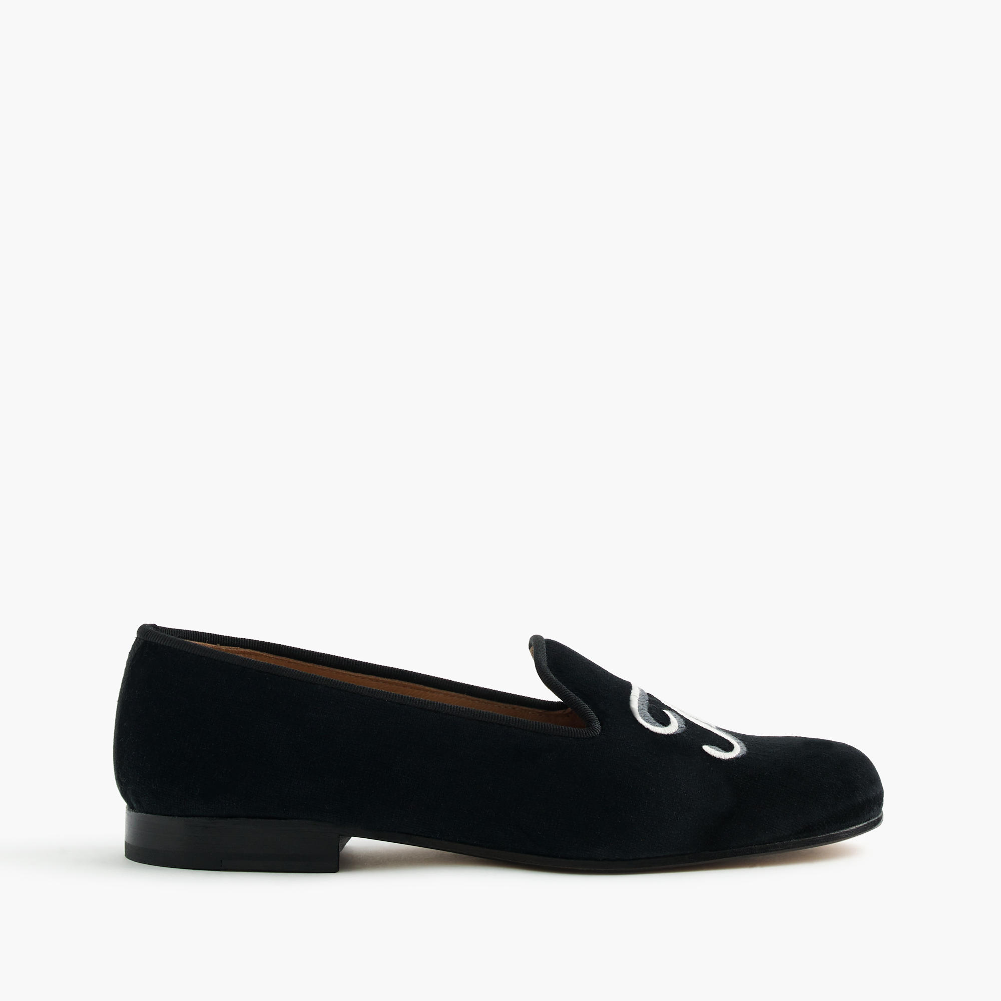 Stubbs wootton for j crew embroidered the end slippers for J crew bedroom slippers