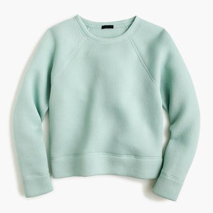 Collection sweatshirt in Japanese scuba fabric
