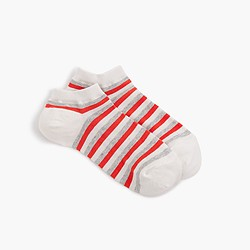 Wide triple stripe trouser socks