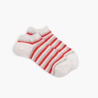 Wide triple stripe trouser socks