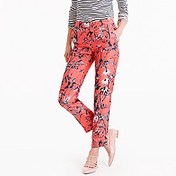 Collection cropped pant in Ratti monkey print
