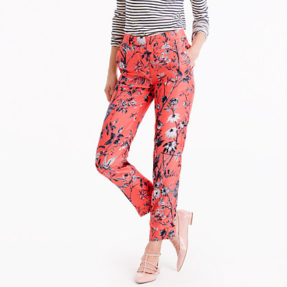 Collection cropped pant in Ratti® monkey print
