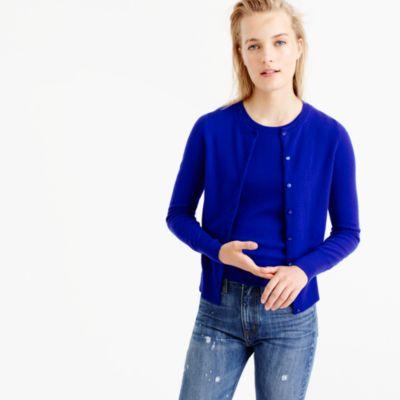 Italian Cashmere Cardigan Sweater : Women's Cashmere Sweaters | J.Crew