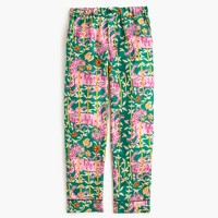 Collection Drake's® for J.Crew pant in Green Bengal Tiger