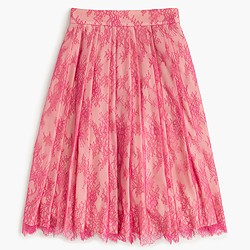 Collection midi skirt in lace