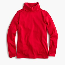 Kids' tissue turtleneck T-shirt