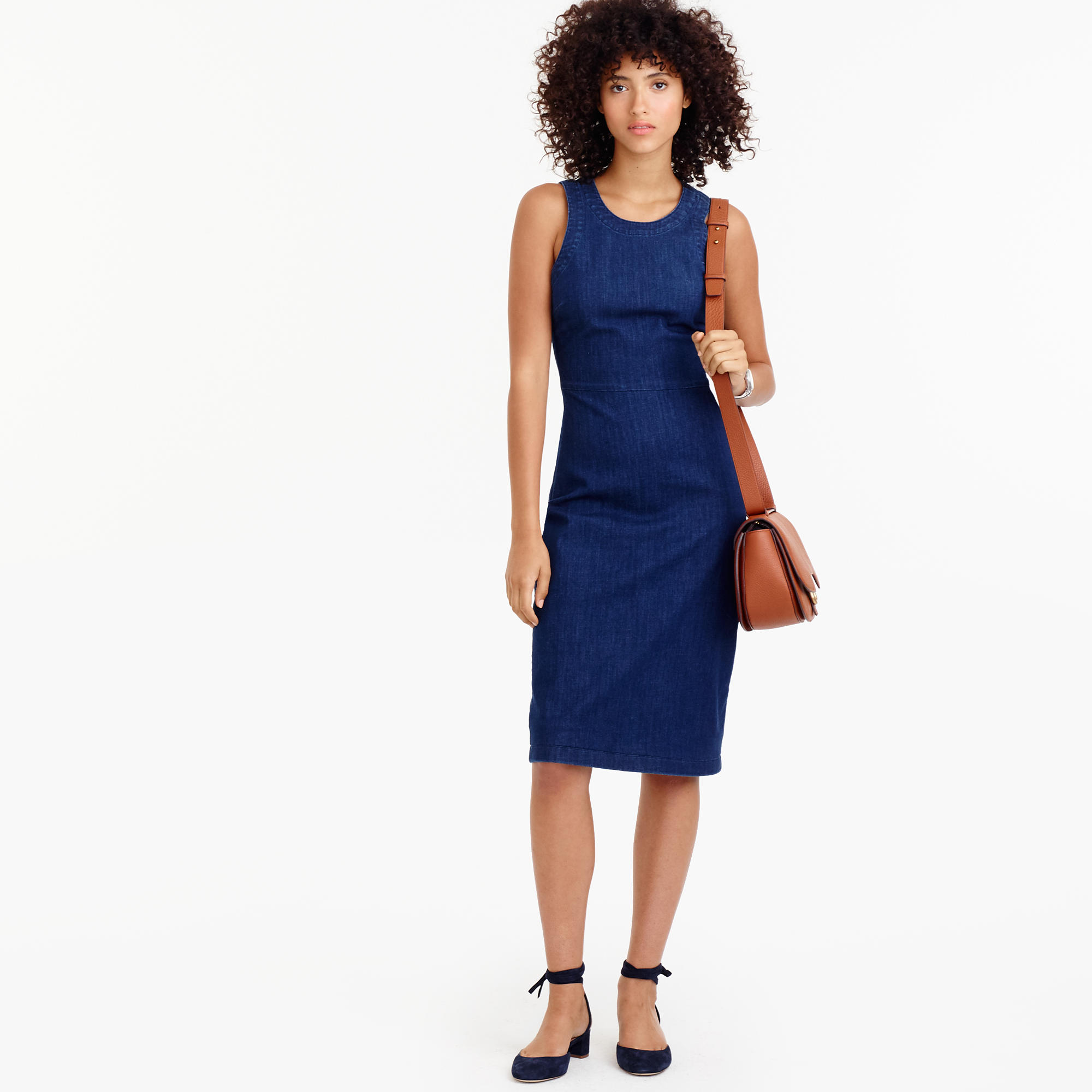 Denim Sheath Dress : Women's Dresses | J.Crew