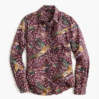 Collection Drake's® for J.Crew perfect shirt in Bird of Paradise