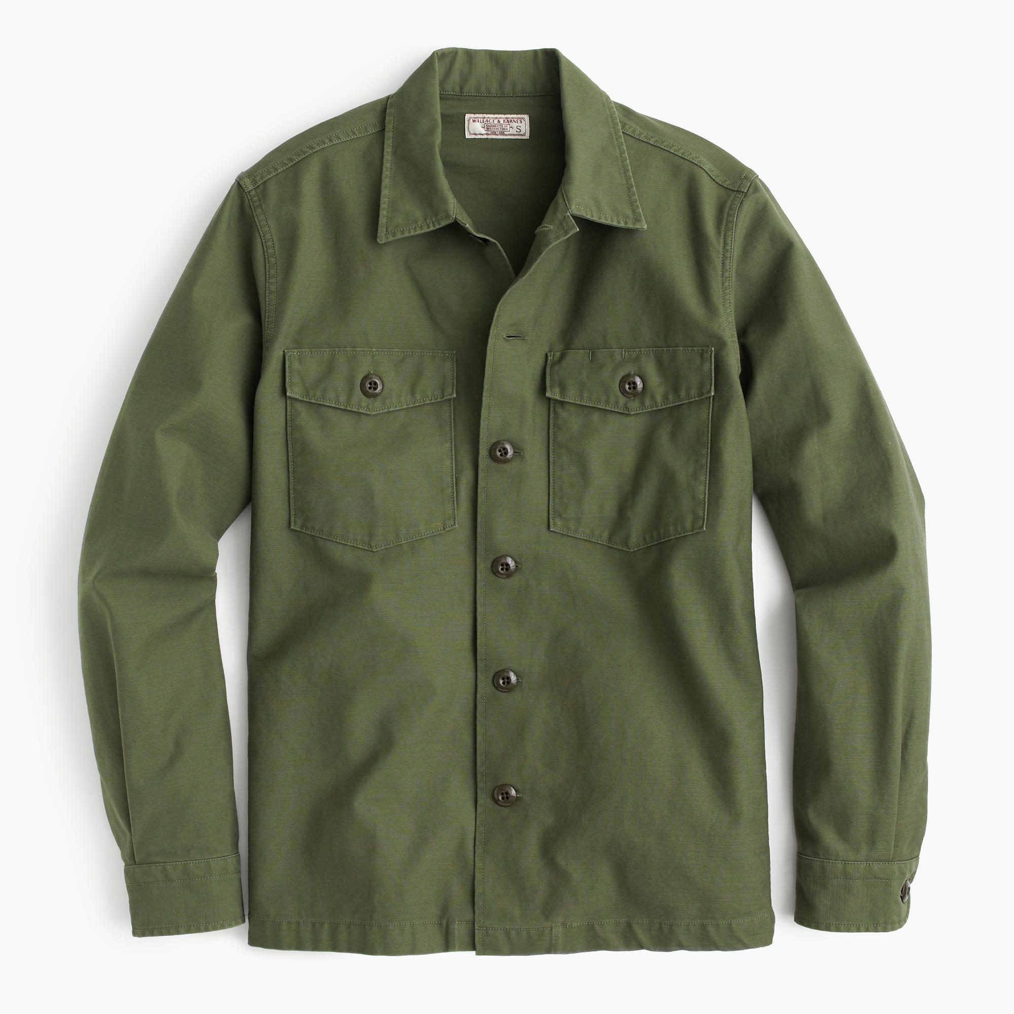 Wallace & Barnes Military Shirt-Jacket : Men's Shirts | J.Crew