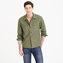 Wallace & Barnes military shirt-jacket