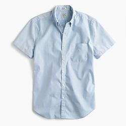 Secret Wash short-sleeve shirt in blue