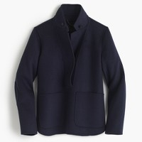 Collection double-faced cashmere popover