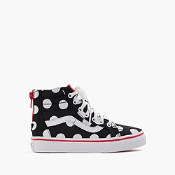 Vans® Authentic polka-dot sneakers in larger sizes