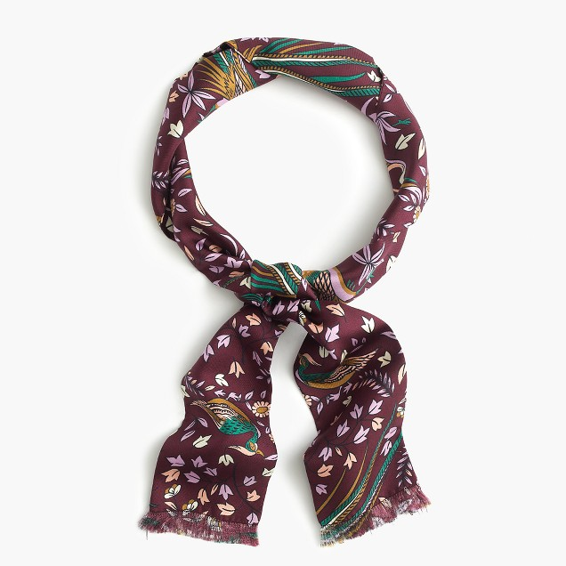 Drake's® for J.Crew long silk scarf