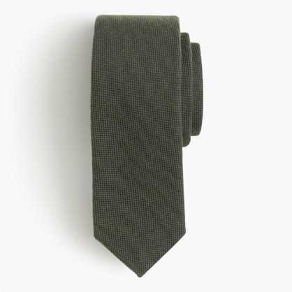 English wool-silk oxford tie