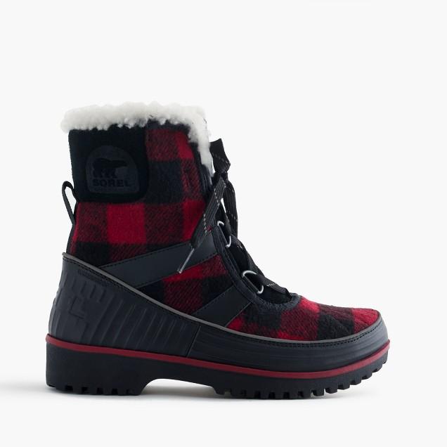 Women's Sorel® for J.Crew Tivoli™ boots in buffalo check