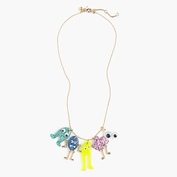 Girls' Max the Monster party necklace