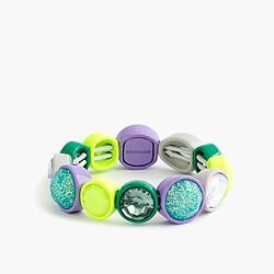 Girls' glow-in-the-dark jewel bracelet