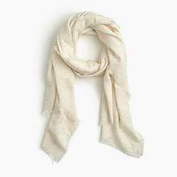 Speckled scarf